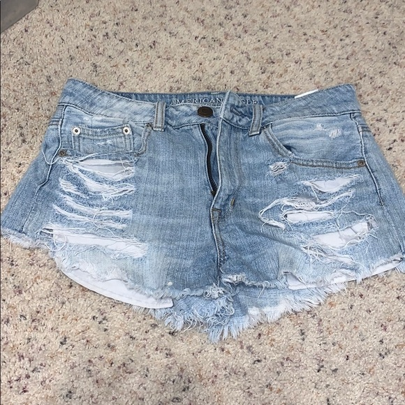 American Eagle Outfitters Pants - American Eagle High Waisted Denim Shorts
